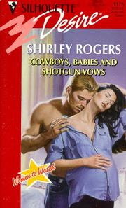 Cover of: Cowboys, Babies And Shotgun Vows (Women To Watch)