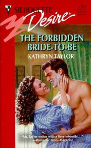 Cover of: The Forbidden Bride to Be