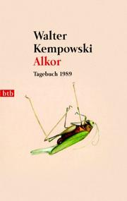 Cover of: Alkor. Tagebuch 1989