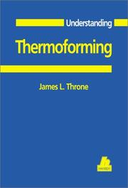 Cover of: Understanding thermoforming