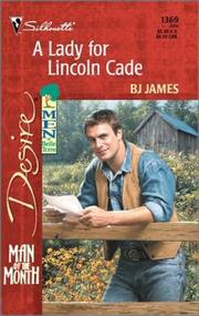 Cover of: Lady For Lincoln Cade (Men Of Belle Terre)
