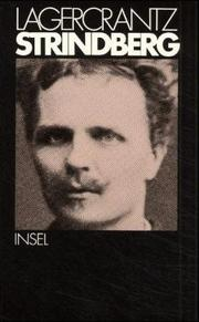 August Strindberg by Olof Gustaf Hugo Lagercrantz