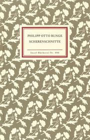 Cover of: Scherenschnitte