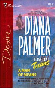 Cover of: A man of means | Diana Palmer