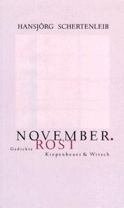 Cover of: November, Rost