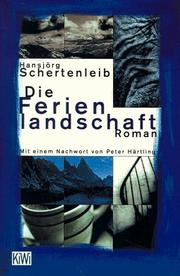 Cover of: Die Ferienlandschaft