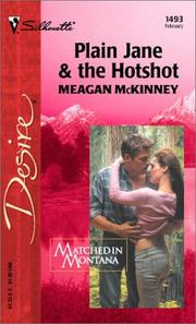Cover of: Plain Jane & the Hotshot  (Matched in Montana)