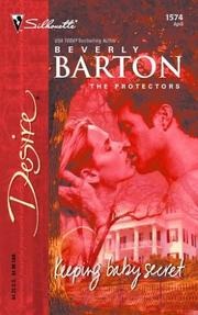 Cover of: Keeping baby secret | Beverly Barton