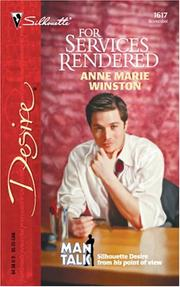 Cover of: For services rendered | Anne Marie Winston