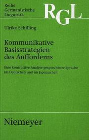 Cover of: Kommunikative Basisstrategien des Aufforderns