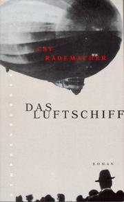 Cover of: Das Luftschiff