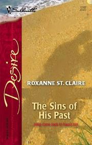 Cover of: The Sins Of His Past | Roxanne St. Claire