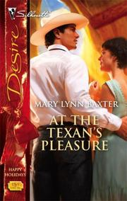 Cover of: At The Texan's Pleasure