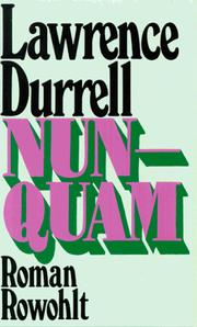 Cover of: Nunquam: a novel.