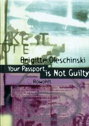 Cover of: Your passport is not guilty