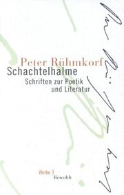 Cover of: Schachtelhalme