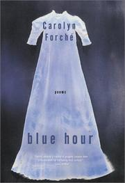 Cover of: Blue Hour: Poems