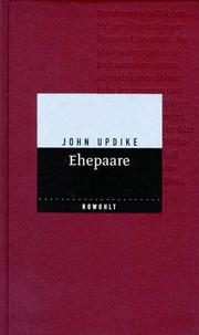 Cover of: Ehepaare