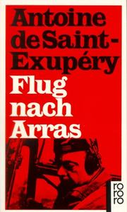 Cover of: Flug nach Arras