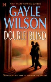 Cover of: Double Blind | Gayle Wilson