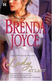 Cover of: A Lady At Last (de Warenne Dynasty)