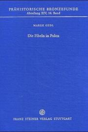 Cover of: Die Fibeln in Polen