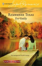 Cover of: Remember Texas