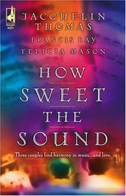 Cover of: How sweet the sound