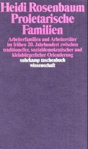 Cover of: Proletarische Familien