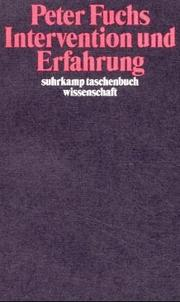Cover of: Intervention und Erfahrung