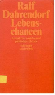 Cover of: Lebenschancen