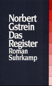 Cover of: Das Register