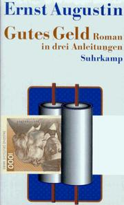 Cover of: Gutes Geld