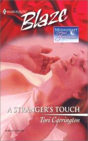 Cover of: A Stranger's Touch (Midnight Fantasies)