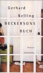 Cover of: Beckersons Buch