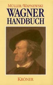 Cover of: Richard-Wagner-Handbuch