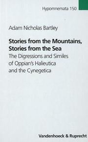 Stories from the mountains, stories from the sea by Adam Nicholas Bartley