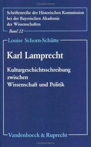 Cover of: Karl Lamprecht