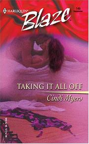 Cover of: Taking it all off