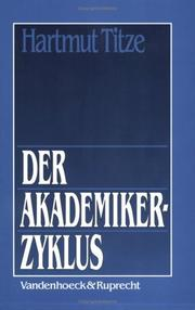 Cover of: Der Akademikerzyklus