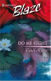 Cover of: Do me right