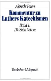 Cover of: Kommentar zu Luthers Katechismen