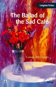 Cover of: Ballad of the Sad Cafe.