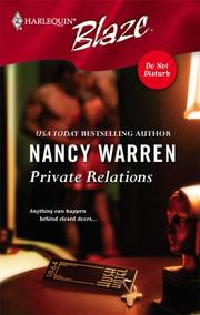 Cover of: Private relations