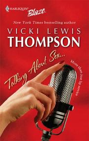 Cover of: Talking about sex -- | Vicki Lewis Thompson