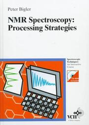Cover of: NMR spectroscopy | Peter Bigler