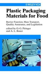 Cover of: Plastic packaging materials for food |