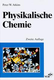 Cover of: Physikalische Chemie