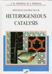 Cover of: Principles and practice of heterogeneous catalysis