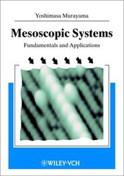 Cover of: Mesoscopic systems | Y. Murayama